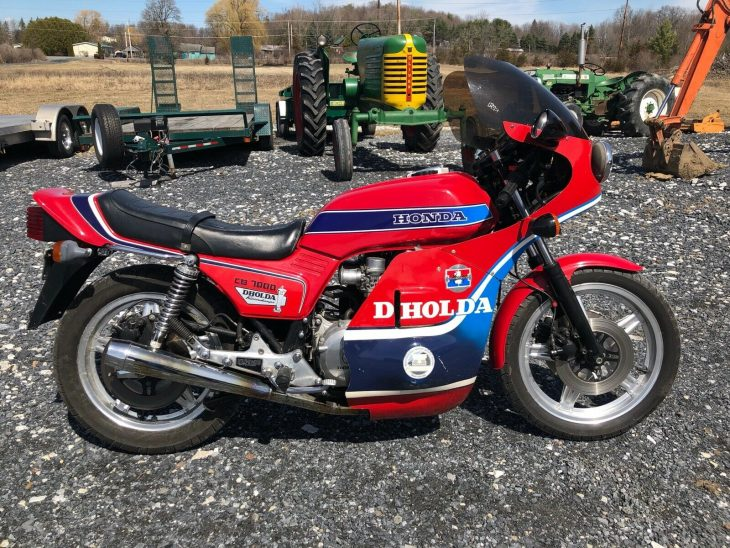 Hold On:  1979 Honda CB900F DHOLDA