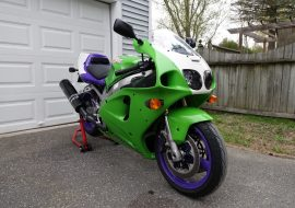 Featured Listing: 1997 Kawasaki ZX-7RR N2