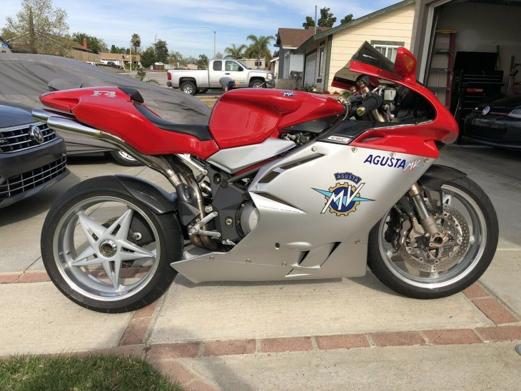 Beautiful Boy: 2000 MV Agusta F4 750