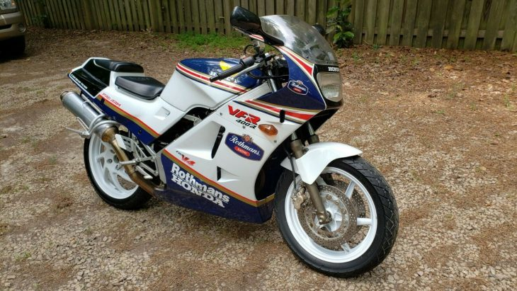 Sweet Little V4: 1988 Honda VFR400R for Sale