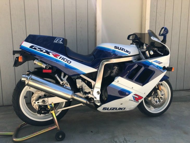 Blunt Force Trauma: 1990 Suzuki GSX-R1100 for Sale