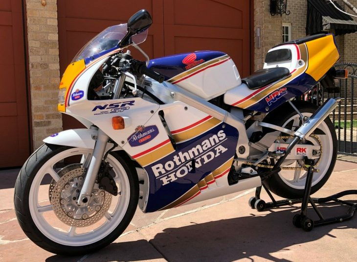 Rothmans Replica: 1991 Honda NSR250R SP for Sale
