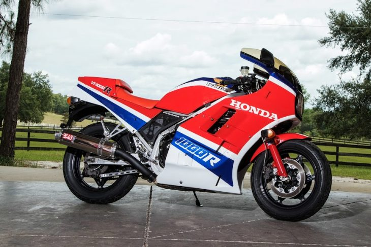 Featured Listing: 1985 Honda VF1000R for Sale