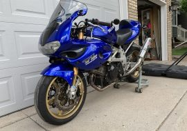 Featured Listing: Tastefully modified 2001 Suzuki TL-1000S