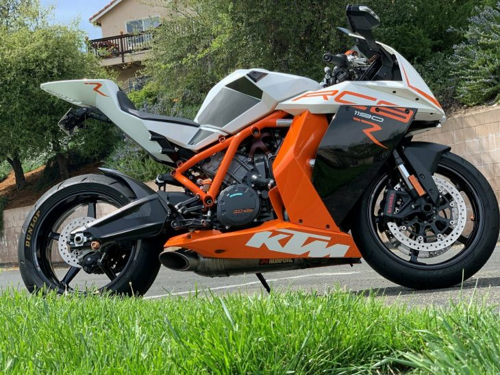 Different Perspectives: 2014 KTM RC8R 1190