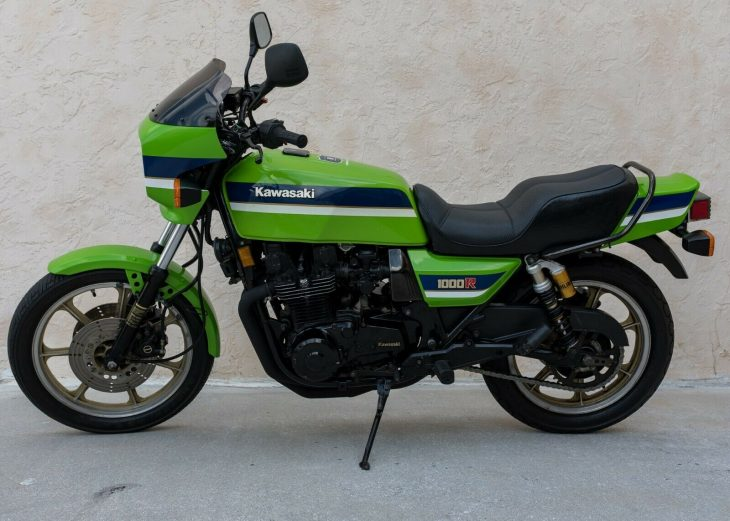 Big Green Monster: 1983 Kawasaki KZ1000R ELR