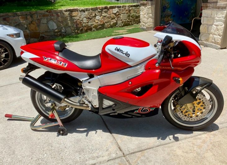 Classic Looks, [Nearly] Modern Performance: 1997 Bimota YB11 Superleggera for Sale