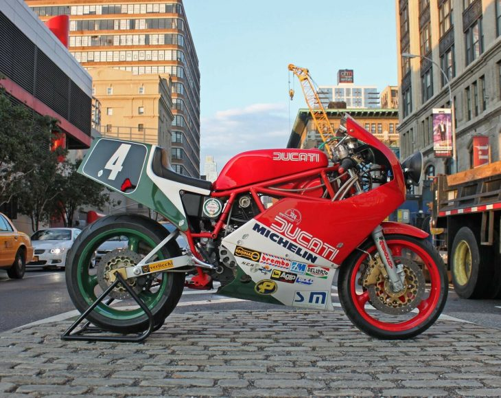 City Slicker – 1985 Ducati 750 F1 Race Replica