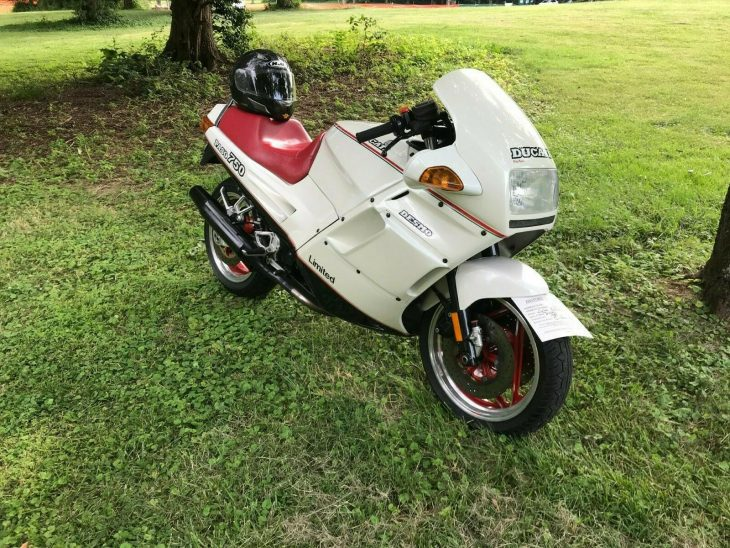 White Elefant – 1988 Ducati Paso Limited