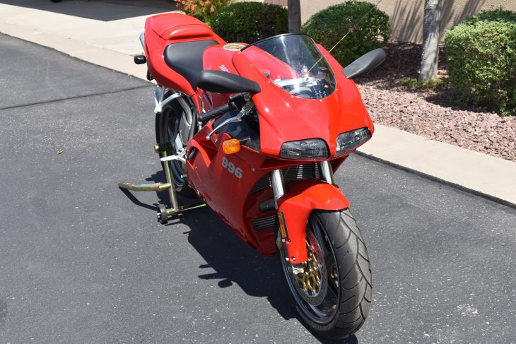 Featured listing: 2000 Ducati 996