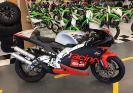 Featured Listing: 2002 Aprilia RS250 Diablo Nero MK2