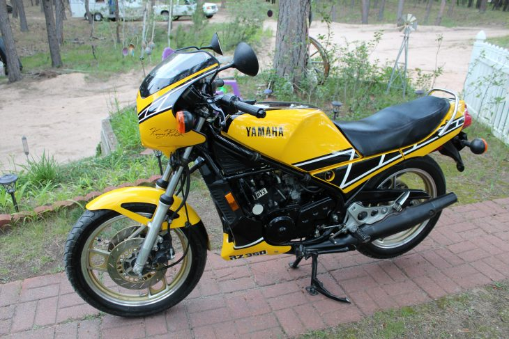 Featured Listing: One-owner 1984 Yamaha RZ350