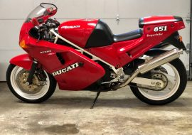Featured Listing: 1990 Ducati 851 Strada for Sale
