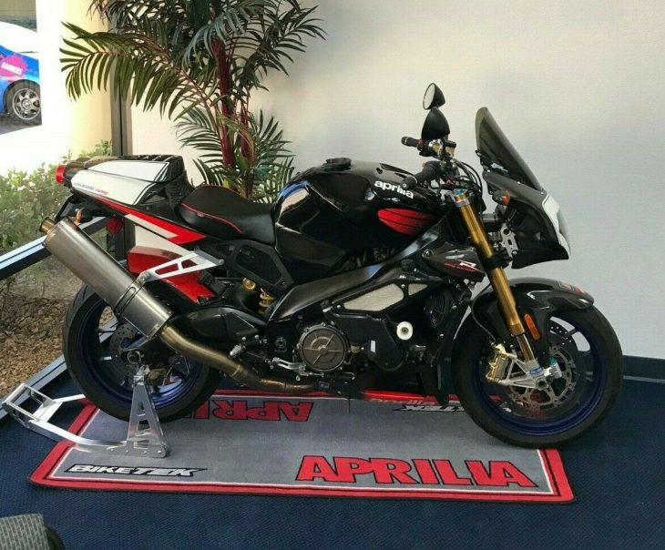 Original Hooligan: 2005 Aprilia Tuono Factory for Sale