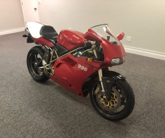 Featured Listing – 1999 Ducati 996 SPS #481