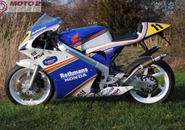 Featured Listing: Tyga-Bodied 1988 Honda NSR250R for Sale