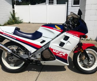 Featured Listing: 1986 Honda VFR750F