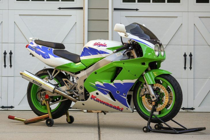 Survivor: 1994 Kawasaki Ninja ZX-7 for Sale