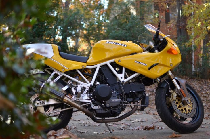 The King in Yellow: 1996 Ducati 900SS/SP for Sale