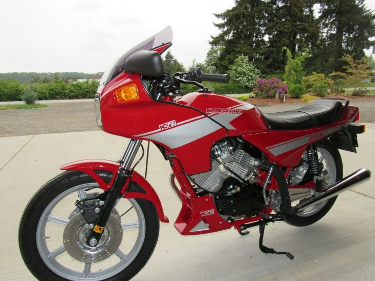 Small Mountain: 1985 Moto Morini 350 K2