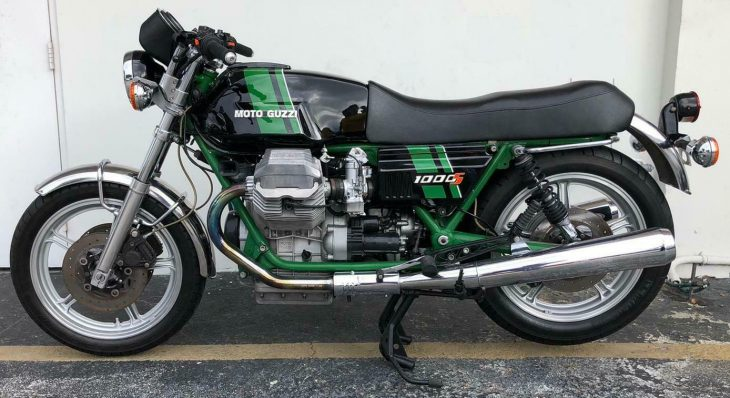 Before It Was Cool: 1991 Moto Guzzi 1000S for Sale