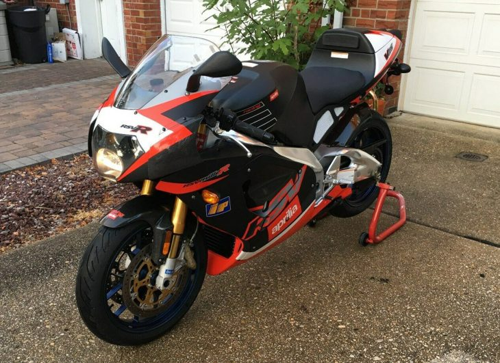 V-Twins for EVERYONE: 2001 Aprilia RSV Mille R for Sale