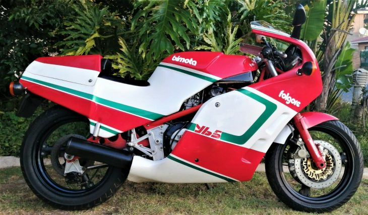 A Good Fit – 1987 Bimota YB5