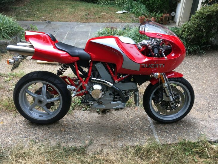 Delayed Gratification – 2000 Ducati MH900e #552