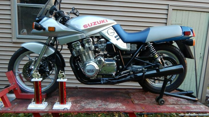 Sharp Sword: 1982 Suzuki Katana