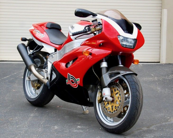 Underappreciated: 1997 Bimota YB11 Superleggera for Sale