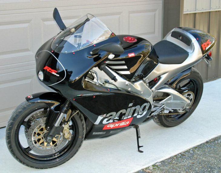 For Offroad Use Only: 2001 Aprilia RS250 Cup for Sale