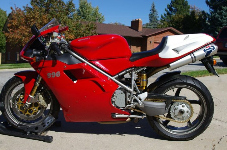 Appreciating Icon: 2001 Ducati 996 for Sale
