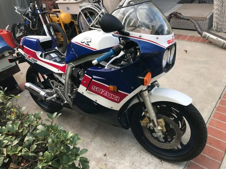 Real / Rough – 1986 Suzuki GSX-R750R Limited Edition