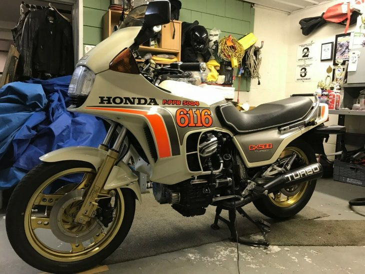 Ride like the wind: 1982 Honda CX500 Turbo