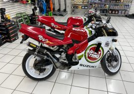 Featured Listings: Pair of 1994 Suzuki RGV250R VJ22 Lucky Strikes