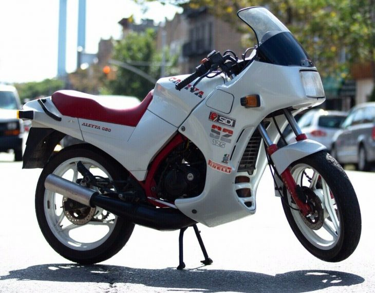 Pint-Sized Oddball Exotic: 1986 Cagiva Aletta Oro S2 for Sale