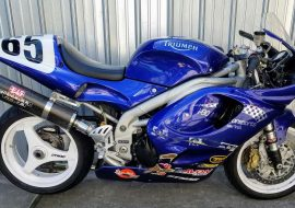 Featured Listing: 1998 Triumph Daytona Ex Formula Thunder Race Bike for Sale