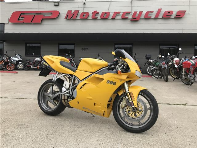 Champagne Taste on a Beer Budget: 2001 Ducati 996 Biposto for Sale