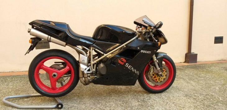 January in Italy ! – 1998 Ducati 916 Senna #199 of 300