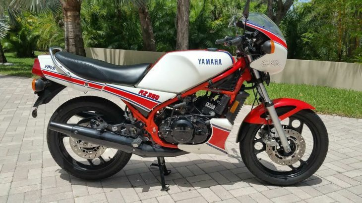 King Kenny's steed: 1985 Yamaha RZ350