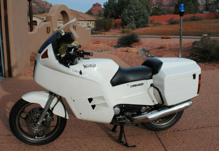 You'll Never Take Me Alive, Copper! 1989 Norton Commander P52 for Sale
