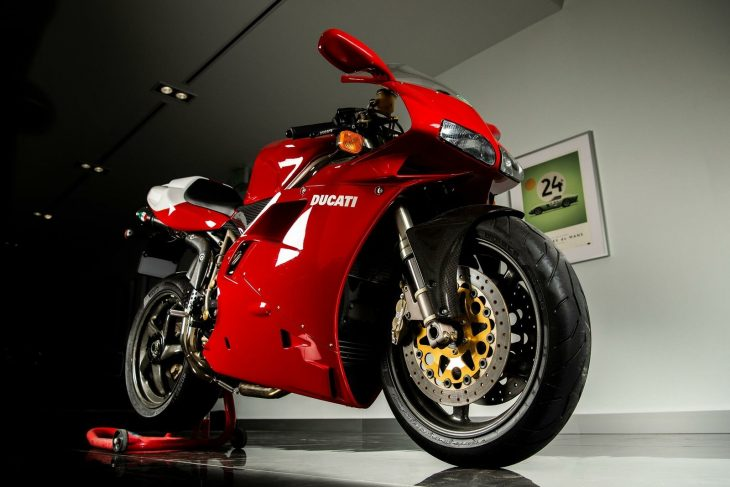 More Than Skin Deep: 1998 Ducati 916 SPS for Sale