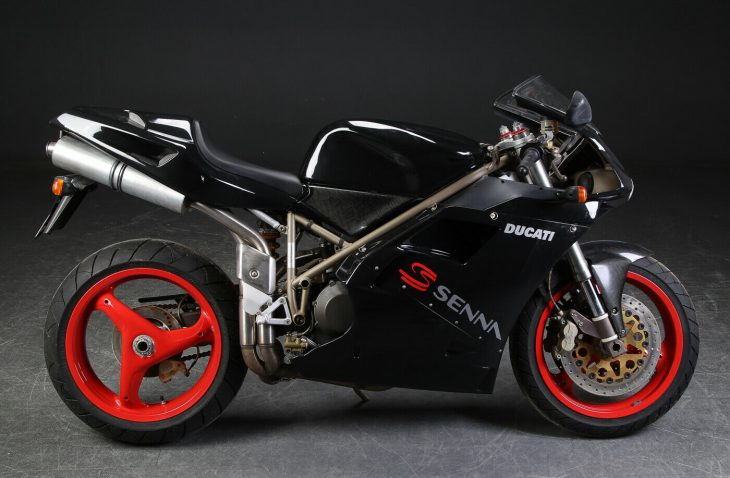 Back in Black: 1997 Ducati 916 Senna lll
