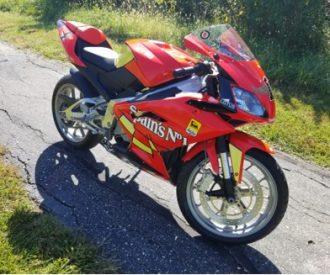 Featured Listing: 2009 Aprilia RS125 Jorge Lorenzo Edition