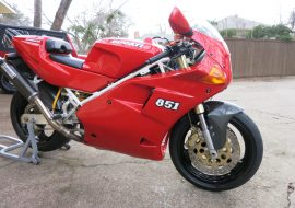 Featured Listing: 1992 Ducati 851 Strada
