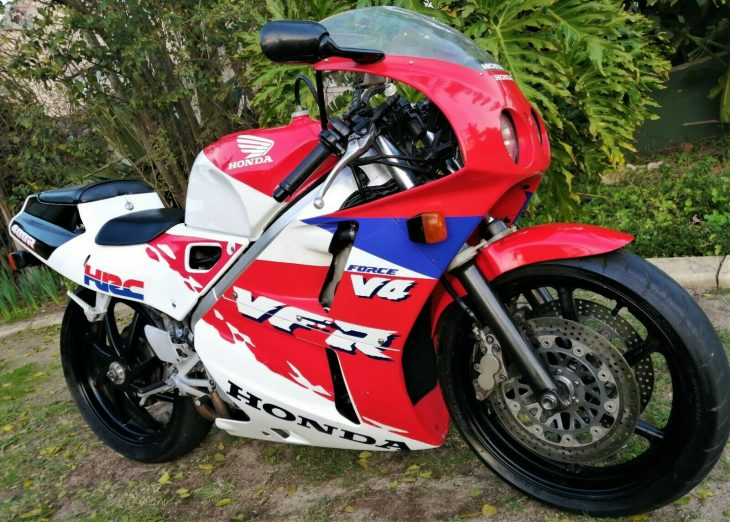 Head to the Cape: 1991 Honda VFR400R NC30