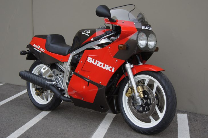 Clean Collectible: 1986 Suzuki GSX-R750 Limited Edition for Sale