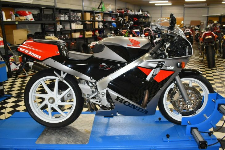 Little Brother: 1989 Honda VFR400R NC30 for Sale