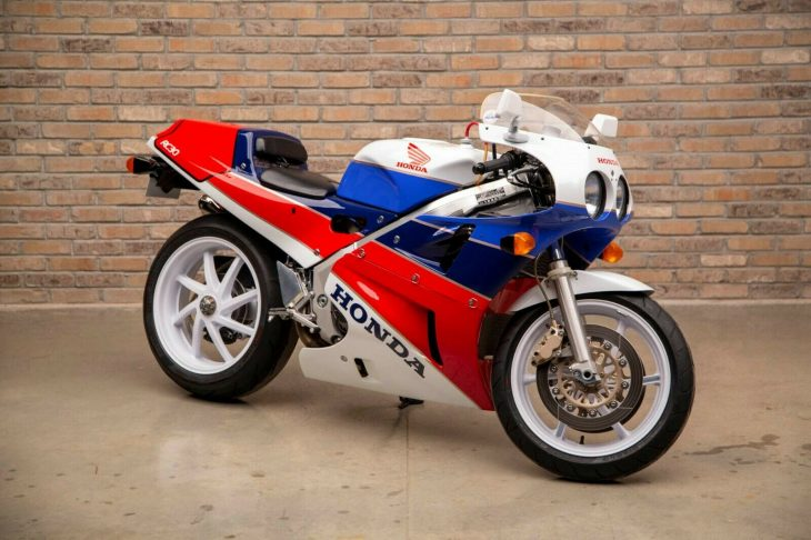 Speak of the Devil: 1990 Honda VFR750R RC30 for Sale