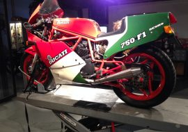 Featured Listing: 1986 Ducati 750 F1B